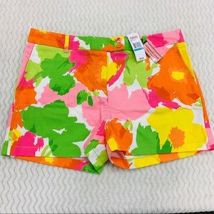 NWT Vineyard Vines Garden Shorts Multi Size 16